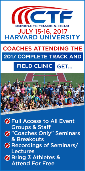 Complete Track and Field Summer Clinic